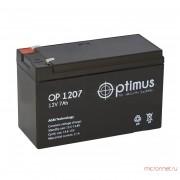 Аккумулятор OPTIMUS OP 12V 7Ah