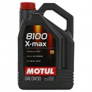 Масло моторное MOTUL 8100 X-max SAE 0W30 5л (100%синтетика)