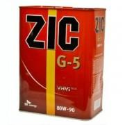Масло трансмиссионное ZIC G-5 SAE 80W90 4л (минеральное)