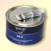 Шпатлевка SOLID Alu ПЭ с алюминием 1кг