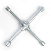 Ключ балонный ЕРМАК крестовой 17х19х21х23мм усиленный
