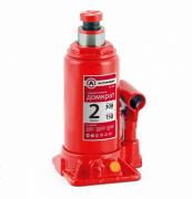 Домкрат AUTOPROFI бутылочный 2т гидравлический 308мм в кейсе
