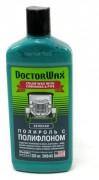 Полироль DOCTOR WAX зеленая с полифлоном 300мм