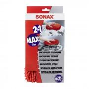 Губка SONAX двухсторонняя с микрофиброй 2 в1