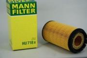 Фильтр масляный MANN HU718x