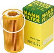Фильтр масляный MANN HU719/8x