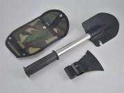 Набор туриста (топор,лопата,пила,нож)