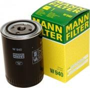 Фильтр масляный MANN W940/20 (W940)