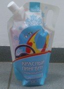 Стеклоомывающая жидкость КРАСНЫЙ ПИНГВИН -50C 1л