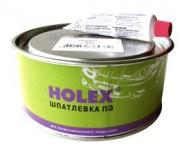 Шпатлевка HOLEX Alu ПЭ со стекловолокном 1кг