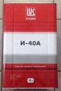 Масло индустриальное ЛУКОЙЛ И-40А бид.18л