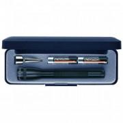 Фонарь MAG-Lite в подарочном футляре мини с батарейками