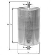 Фильтр топливный MAHLE KL60