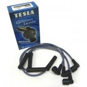 Провода TESLA высоковольтные силикон комплект ВАЗ 2108 инжектор T395S