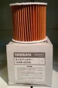 Фильтр масляный NISSAN 15208-AD200