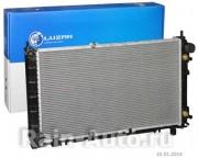 Радиатор охл. алюм. для а/м ВАЗ 2190 Гранта АКПП Luzar