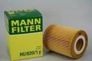 Фильтр масляный MANN HU820/1у
