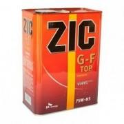 Масло трансмиссионное ZIC G-F TOP GL-4 SAE 75W85 4л (синтетика)