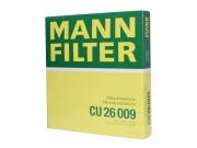 Фильтр салонный MANN CU26009