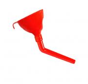 Воронка Rexxon разборная с косым шлангом красная