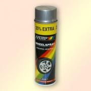Краска MOTIP для дисков Серебристая 500 мл (аэрозоль)