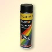 Краска MOTIP черная матовая 500мл (аэрозоль)