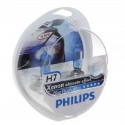 Лампа PHILIPS Н7-12V 55W+60% Vision blue 2шт