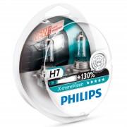 Лампа PHILIPS Н7-12V 55W+130% X-Treme vision 2шт