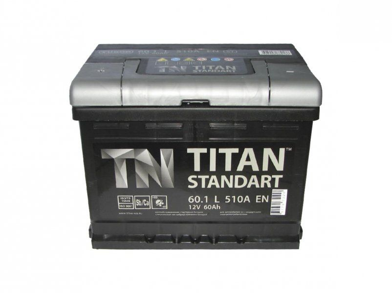 Аккумулятор TITAN Standart 6CT-60.1 п/п