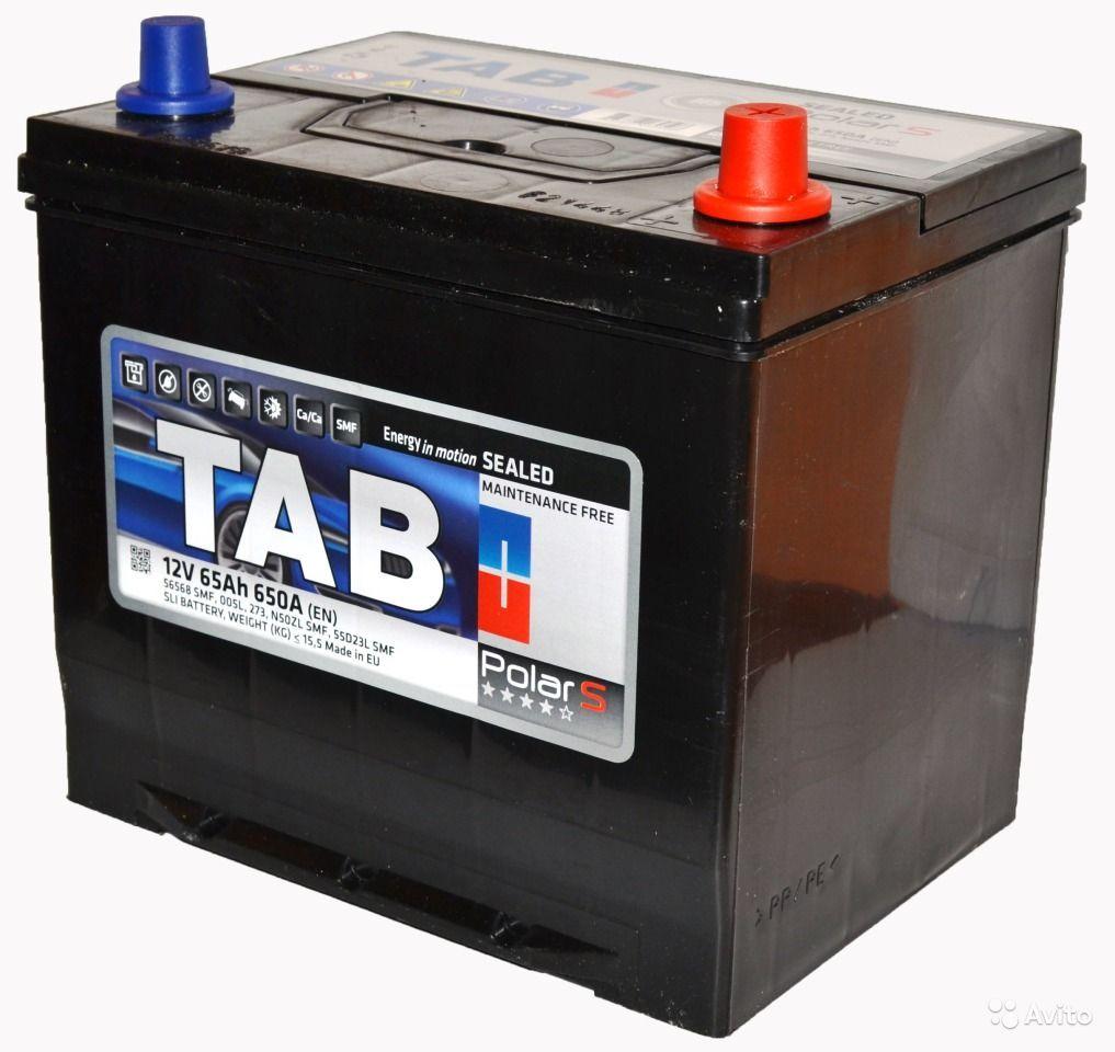 Аккумулятор TAB Polar S 6СТ-65 о/п
