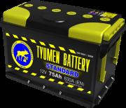 Аккумулятор TYUMEN Standart 6СТ-75 п/п