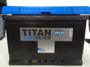Аккумулятор TITAN Euro Silver 6CT-60.0 o/п
