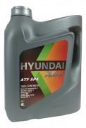 Масло трансмиссионное HYUNDAI XTeer ATF SP4 4л