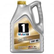 Масло моторное MOBIL 1 New Life SAE 0W40 4л (синтетика)