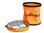 Ведро AIRLINE складное в чехле оранжевое(11л)