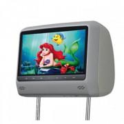 """Подголовник с LCD-монитором 7"""" и DVD-проигрывателем"""