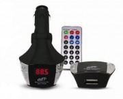 FM трансмиттер AVS music с дисплеем и пультом F-507